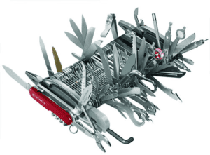 Swiss Army knife (extra-complex model)