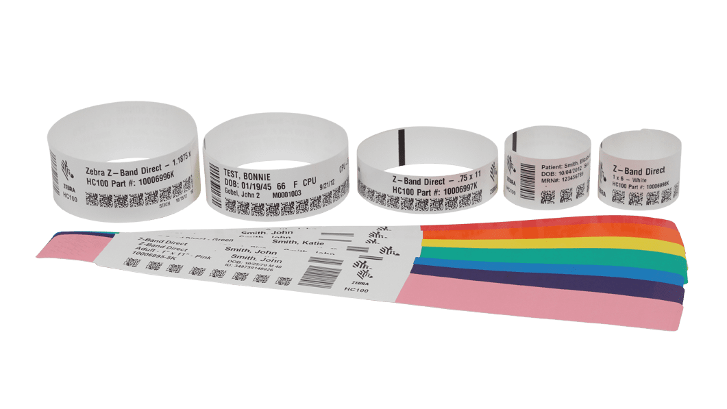 Laser, Thermal & RFID Wristbands