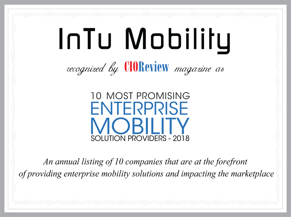 10 Most Promising Enterprise Mobility Solution Providers: CIO Review