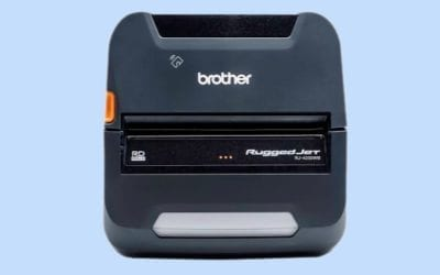 Brother RuggedJet 4250WBL Mobile Printer